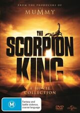 The Scorpion King - 1-4 Movie Collection / 1, 2, 3, 4 DVD NEW R4