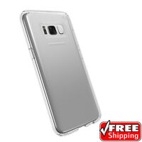 Speck Presidio Clear Hard Slim Case Samsung Galaxy S8 + Plus NEW OEM Authentic