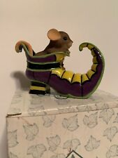 "Charming Tails ""You'Re A Bewitching Sole"" Dean Griff Halloween Figurine Enesco"