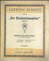 Der Harmoniumspieler Heft II ~ Harmonium. alt, übergroß