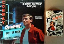 9/30/55 - LEONARD ROSEMAN - SEALED LP SOUNDTRACK + PAPERBACK BOOK - 1977