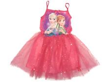 Kleid Frozen, Eiskönigin, Elsa und Anna , Disney Mädchen, rosa