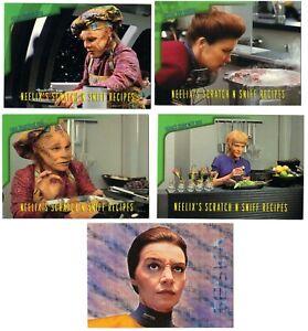 CHASE 1995 Star Trek Voyager Season 1 Series 2 - select 1 Recipe or Xenobio card