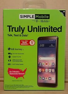 LG Journey Phone Simple Mobile Truly Unlimited