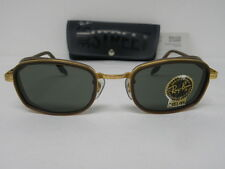 New Vintage B&L Ray Ban Sidestreet Combo Square Arista Brown Crystal W2812 NOS
