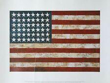 Jasper Johns Poster - Flag, 1954-55
