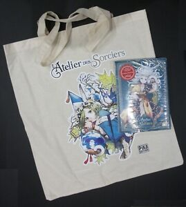 Kamome SHIRAHAMA L'Atelier des sorciers T4 Collector + Tote bag NEUF sousblister
