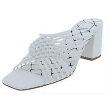 Dolce Vita Womens Delana Leather Block Straps Strappy Sandals Shoes BHFO 7900