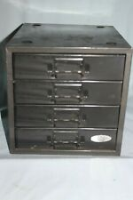 Vintage Herter's 4 Drawer Stackable Industrial Parts Bin Storage Cabinet Box