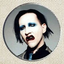 Marilyn Manson Patch Picture Embroidered Border Rock Metal Mechanical Animals