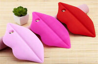 New 3D Cute Sexy Lips Soft Silicone Case Cover Back Skin For iphone 6 6s plus