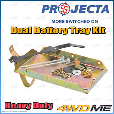 Toyota Prado 120 Series 4WD PROJECTA Dual Battery Tray Auxiliary Complete Kit