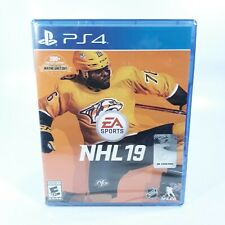 NHL 19 Sony PlayStation 4 PS4 Brand New Factory Sealed