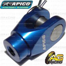 Apico Blue Rear Brake Clevis For Yamaha YZ YZF WRF 125-450 Suzuki RMZ 250 450