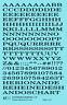 K4 O Decals Black 1/4 Inch Extended Roman Letter Number Alphabet Set