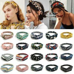 Knot Headbands for Women Girls Hair Bands Ladies Headwear Bohemian Hairbands
