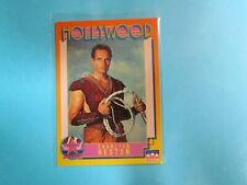 Charlton Heston Autographed Hollywood #4 Card
