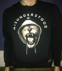 Entree Authentic Crew Pullover Sweatshirt Misunderstood Men's Size XXL