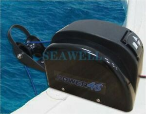 45 LBS Free Fall saltwater Boat Marine Electric Anchor Winch W/ Wireless Remote