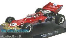 VISITAR MI TIENDA - 1:43 LOTUS 72 C FORD - RBA F1 (1970) - Jocken Rindt