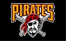Baseball Pittsburgh Pirates Flag 3 X 5