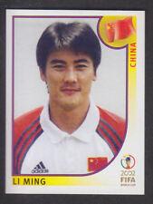 Panini - Korea Japan 2002 World Cup - # 213 Li Ming - China