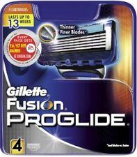 Gillette Fusion ProGlide Manual Razor Blades 4 pack FREE NEXT DAY DELIVERY