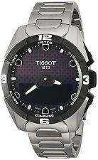 New Tissot T-Touch Expert Solar Titanium Bracelet Mens Watch T0914204405100