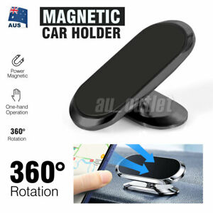 360° Rotate Universal Magnetic Car Mount Dash Phone Holder for iPhone Galaxy GPS