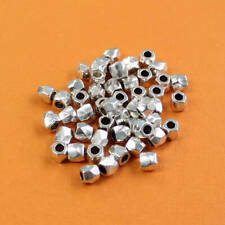 500 Spacer Beads 4mm Gold Tone Iron FD234