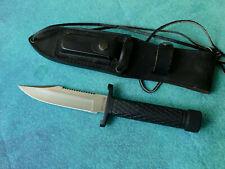 EXPLORER JAPAN Survivor I Tactical Knife - NM Edge Mark Hunting Survival Bowie