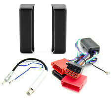 Radioblende Set AUDI A4 B5 A6 C4 A8 4D Blende Aktivsystem Adapter Autoradio