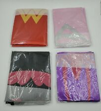 4 Pack Costumes with Masks for Girls