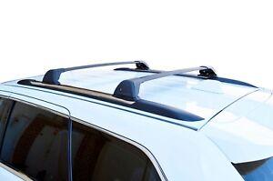 Aerodynamic Roof Rack Cross Bar for Jeep Grand Cherokee WK 2010-20 Black