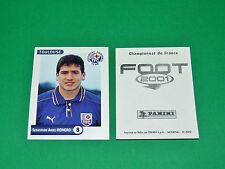 PANINI FOOT 2001 FRANCE FOOTBALL 2000-2001 ROMERO TOULOUSE FC Téfécé TFC STADIUM