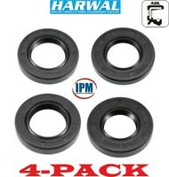 FACTORY NEW HARWAL TC 45x65x8 Metric Oil Seal Buna-N Dual Lip W//Spring 4-PACK
