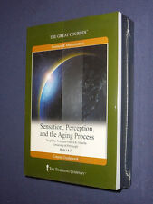 Teaching Co Great Courses DVDs           SENSATION PERCEPTION AGING PROCESS  new