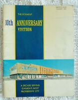 Vintage Simpsons-Sears Magazine Roundup Calgary AB 10 Year Anniversary 1958-1968