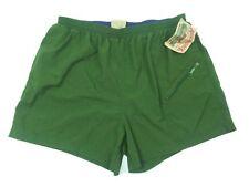 Adirondack Savile Row Men's XL Nylon Lined Green Cargo Pocket Shorts NICE (K1)