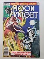 MOON KNIGHT #5 (1981) MARVEL BILL SIENKIEWICZ ART! HTF NEWSSTAND VARIANT EDITION