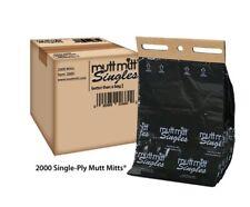 Mutt Mitt Singles 2000 per Case Item# 2660 Pooper Bags Great BULK Savings