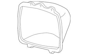 Genuine GM Sealed Beam Mount Ring 5968095
