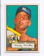 Reprint 1952 52 Topps #311 Mickey Mantle Rookie RC Baseball Card GEM MINT 00001