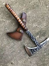 Hand Made Tactical Axe Tomahawk Viking Hatchet Outdoor Hunting Tool Camping Axe
