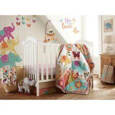 Levtex Baby ZAHARA 5 PC Crib Bedding Set + Bumper + Mobile + Blanket NEW
