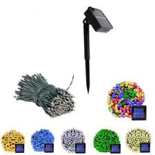 100/200 LED Solar String Lights Fairy Light Garden Christmas Decor Light 8 modes