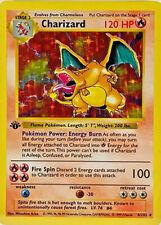 Refrigerator Magnet of Charizard 4/102 Base Set 1999 Holo Pokemon Card