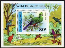 Liberia 1977 #783 Bird souvenir sheet MNH