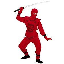 Widmann - Costume da Guerriero 'ninja Rosso' in Taglia 5/7 anni