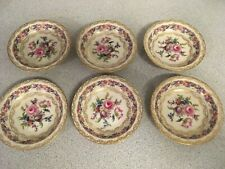 "Lot of 6 Vintage Rosenthal Ivory VIENNA 5 1/8"" Fruit Bowls 9 of 11"